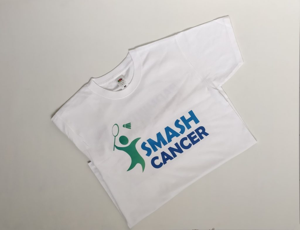 Smash Cancer T-shirt is out for sale!